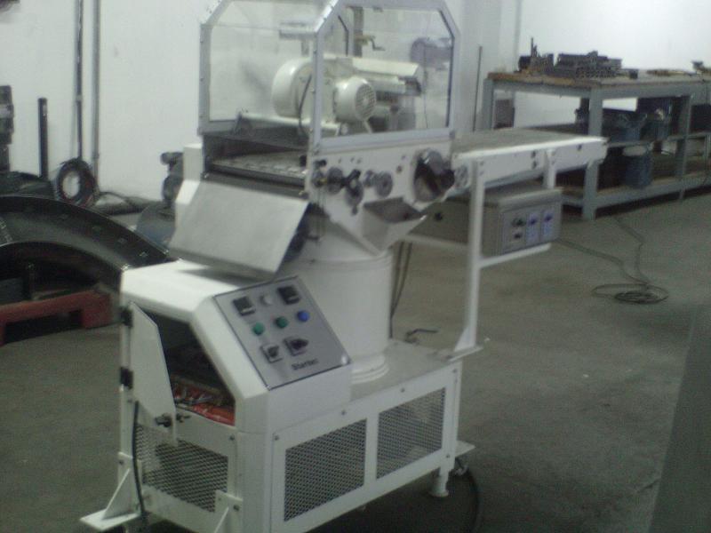 Cobrideira de chocolate industrial